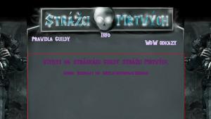 náhled webu strazcimrtvych.cekuj.net