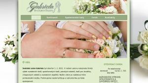 náhled webu svatebnisalongabriela.cz