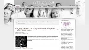 náhled webu svetlovdusi.cz