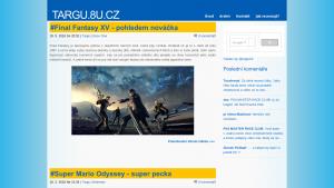 náhled webu targu.8u.cz