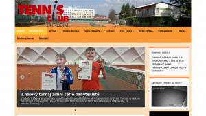 náhled webu tcchrudim.cz