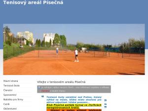 náhled webu tenis-pisecna.cz