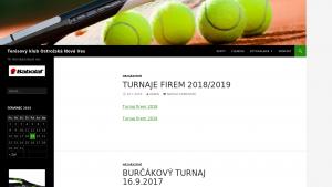 náhled webu tenisonves.g6.cz