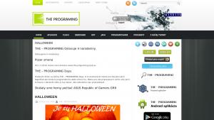 náhled webu the-programing.6f.sk