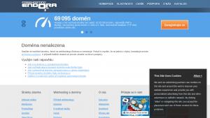 náhled webu thebox.hys.cz