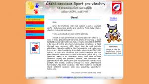náhled webu tj-chemicka.8u.cz