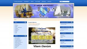 náhled webu tjsokolpalkovice.cekuj.net