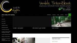 náhled webu travnicci.tode.cz