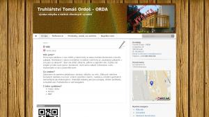 náhled webu truhlarstvi-ordos.cz