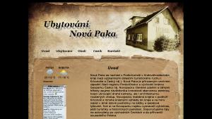 náhled webu ubytovani.funsite.cz