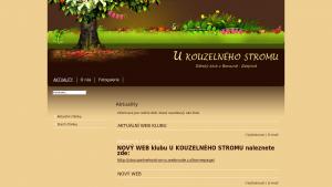 náhled webu ukouzelnehostromu.comehere.cz