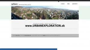 náhled webu urbex.6f.sk