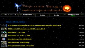 náhled webu utaes.g6.cz