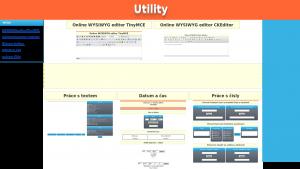 náhled webu utility.jecool.net