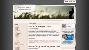 náhled webu valecnavidea.cz