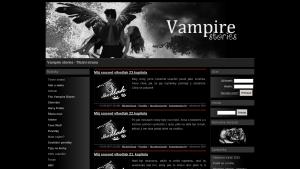 náhled webu vampire-stories.g6.cz