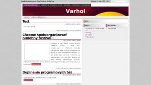 náhled webu varhol.6f.sk