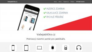 náhled webu vasejablicko.cz