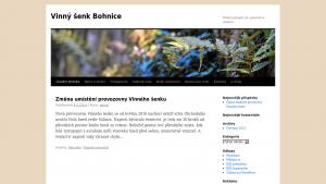náhled webu vinnysenk.4fan.cz