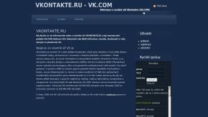 náhled webu vk.hys.cz