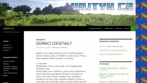 náhled webu vojtykcz.funsite.cz