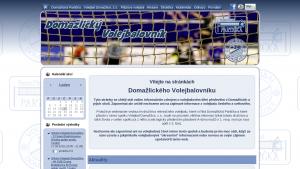 náhled webu volejbaldomazlice.4fan.cz