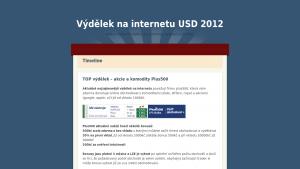 náhled webu vydelek.jecool.net