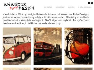 náhled webu wawrous.cz