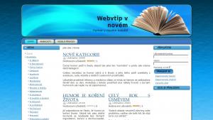 náhled webu webvtip.cz