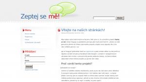 náhled webu zeptejseme.mzf.cz