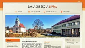 náhled webu zsliptal.cz