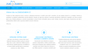 náhled webu zubzazubem.cz